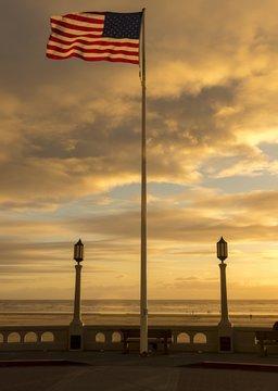 American Flag. United States of America flag.