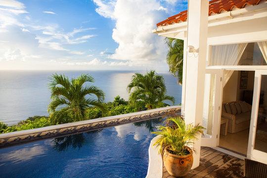 Saint Lucia - Caribbean house