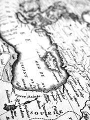 古地図 中東地域