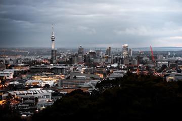 Auckland city panorama. Sony Alpha 6000, 50mm lense