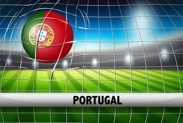A portugal football template