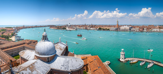 Panorama view of Venice, Italy