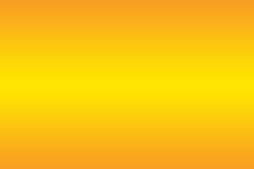 Empty blurred yellow white Abstract Background Design, Gradient with yellow color, Vector