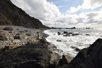 Duckpool Beach North Cornwall