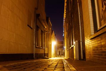 Schiedam at night