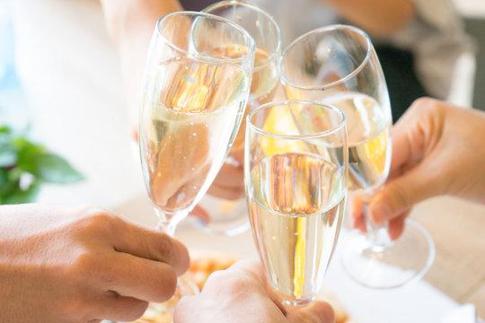 ホームパーティー シャンパン グラス