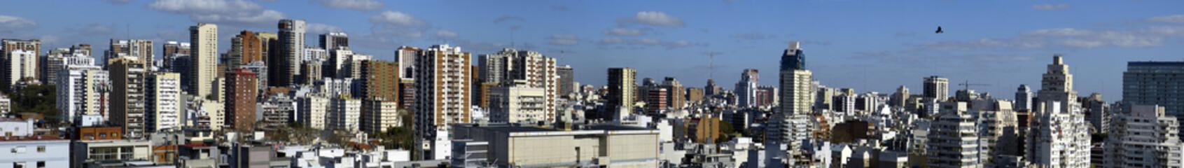 Panorama von Buenos Aires
