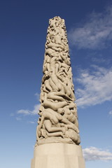 Oslo - Parc de sculptures Vigeland