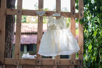 Baby girl dress - Baptism