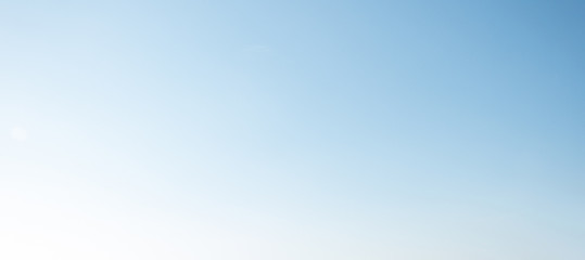 blue sky blurred background