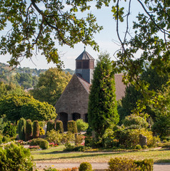 Friedhofs-Kapelle auf dem alten Friedhof von Herdecke, Deutschland