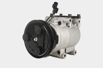 AC copressor isolatet on white