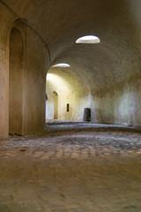 Passage in a castle