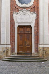 Gate of a the Clemenskirche in Münster (Germany)