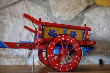 miniature Sicilian cart