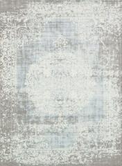 Vintage rug Eastern silk pattern