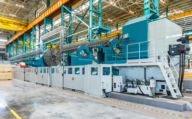 Large Lathe in OJSC Power Machines
