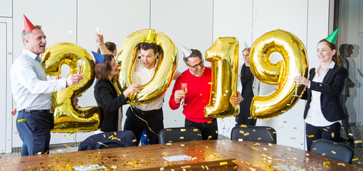 2019 New Year office party