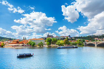 Prague in a summer day, Czech Republic