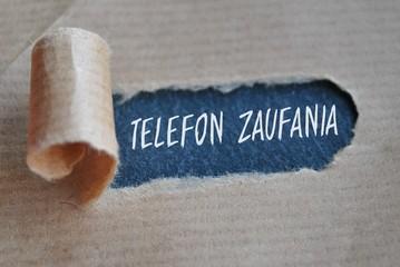 Fototapeta Telefon zaufania obraz