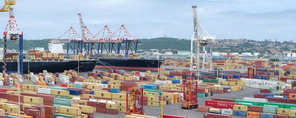 Port in Durban