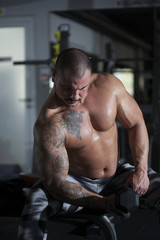 The man who bodybuilding