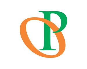 initial typography alphabet font typeset logotype image vector icon