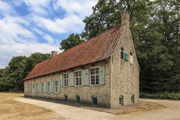 Old farmhouse in Bokrijk, Belgium