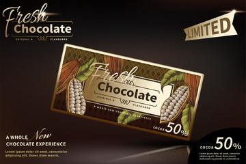 Premium chocolate package design