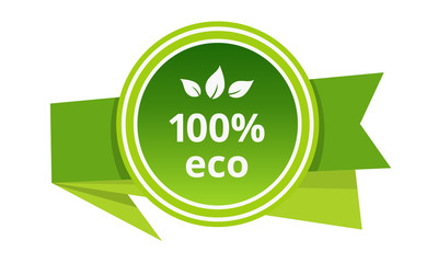 Eco-friendly natural products in food market, farm, biological labels, tags.