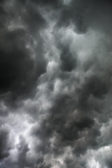 Stunning storm clouds sky background wallpaper