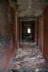 Zniszczony hotel olimpijski Sarajewo