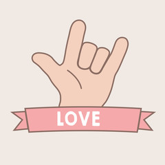 Love Sign Language Really