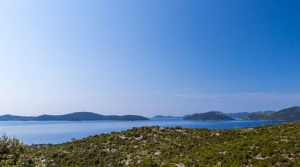 View of Adriatic sea in summer