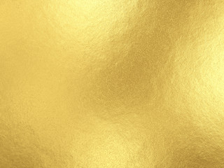 Gold foil background with light reflections Wall mural