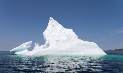 Iceberg near Twillingate in Newfoundland and Labrador, Canada