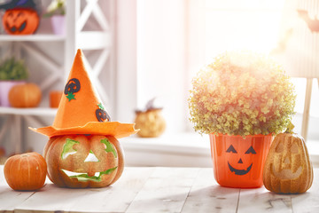 pumpkin on the table