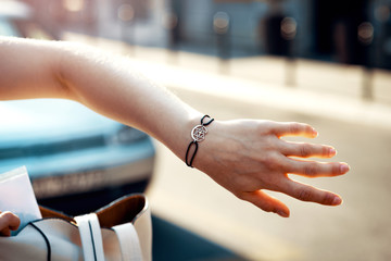Interreligion symbol bracelet