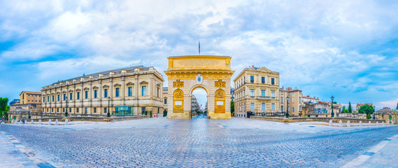 Arc de Triomphe in Montpellier, France