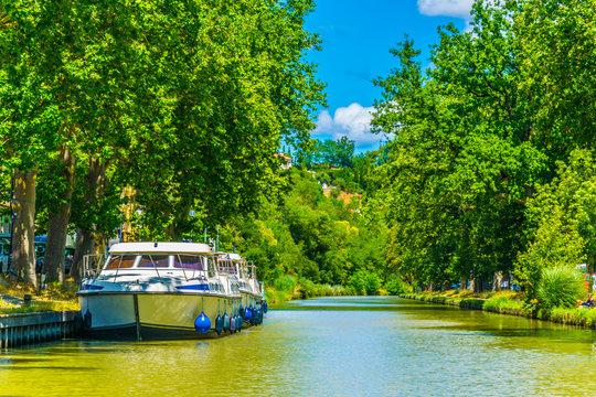 Canal du Midi near Carcassonne, France