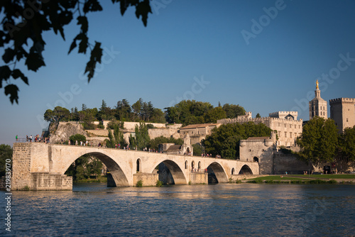 Saint Benezet Bridge Avignon Refered To In The Song Sur