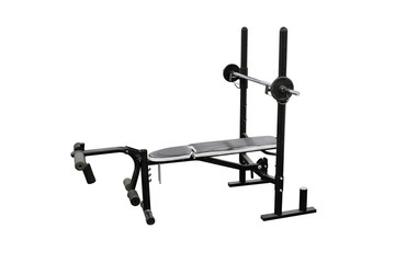sports training apparatus for bench presses isolated on white background