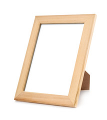Unpainted wood pictures frame