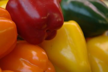 vier Farben Paprika