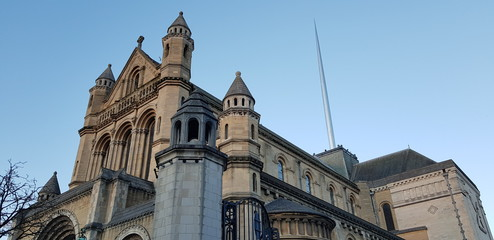 St Anne's Cathedral with Spire of Hope, Belfast