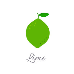 Lime icon with title