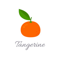 Tangerine icon with title