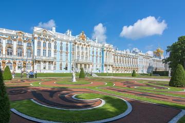 Catherine palace in Tsarskoe Selo (Pushkin), Saint Petersburg, Russia Fototapete