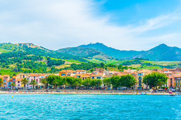 Seaside of Collioure, France