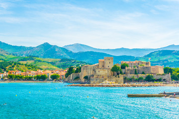 Royal castle in Collioure, France